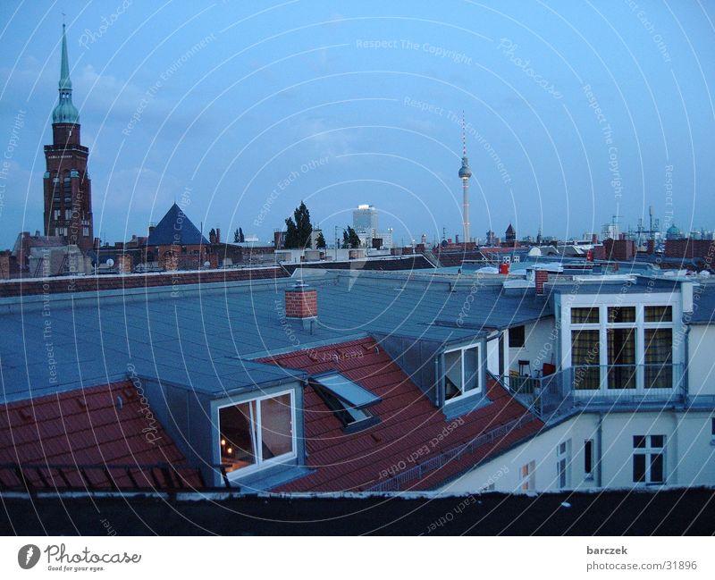 Prenlzlauer Berg_aufm Dach 1 Berlin Architektur Dach Skyline Berliner Fernsehturm Prenzlauer Berg