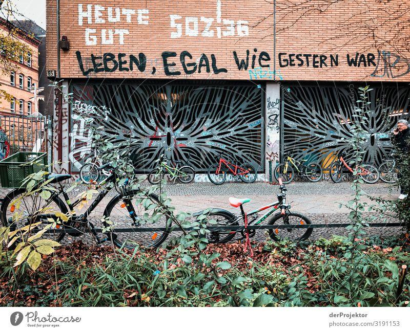 Leben, egal wie gestern war: Kreuzberg Ferien & Urlaub & Reisen Tourismus Ausflug Freiheit Städtereise Bauwerk Gebäude Architektur Mauer Wand Fassade ästhetisch