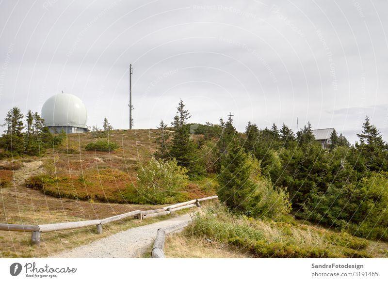 Landscape picture at the big Arber in Bavaria Ferien & Urlaub & Reisen Ausflug Sommer Berge u. Gebirge wandern Natur springen arber mountain autumn bavaria