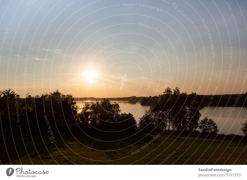 Landschaft am Murner See, Wackersdorf, Bayern Erholung Ferien & Urlaub & Reisen Camping Fahrradtour Sonne wandern Fahrradfahren Schwimmen & Baden tauchen Natur