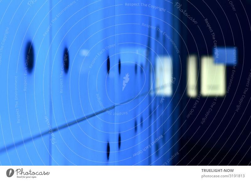 Entrèe | unscharf Lichtdesign Lichteffekt Hauptstadt Stadtzentrum Menschenleer Haus Hochhaus Bankgebäude Gebäude Architektur Mauer Wand Fenster Tür Flur
