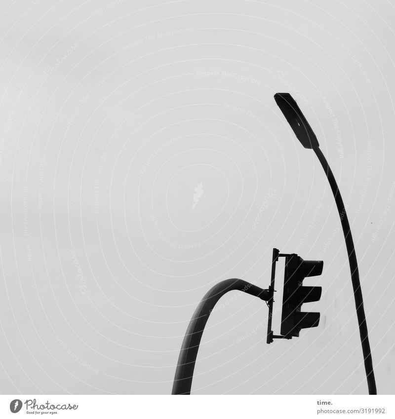 Lightboxen (V) Energiewirtschaft Himmel Verkehr Lampe Laterne Ampel hängen Sympathie Zusammensein Leben standhaft demütig Hochmut Stolz Partnerschaft Design
