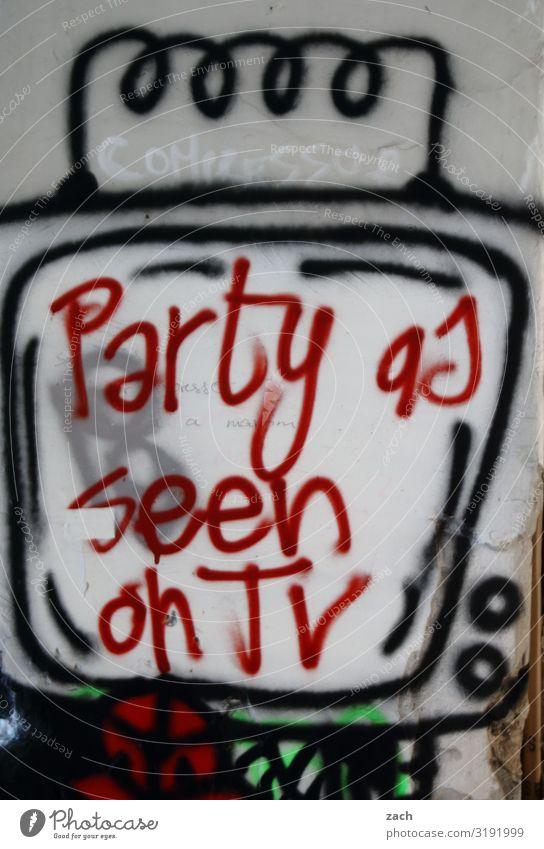 Vorsicht, scharf l Party Nachtleben Veranstaltung Club Disco Diskjockey ausgehen Feste & Feiern clubbing Tanzen Fernseher Fernsehen Fernsehen schauen Stadt