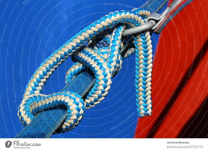 Knoten Freizeit & Hobby Camping Kunststoff Netzwerk fest Zusammenhalt Verbindung verbinden Zelt Schnur Farbfoto mehrfarbig Außenaufnahme Nahaufnahme