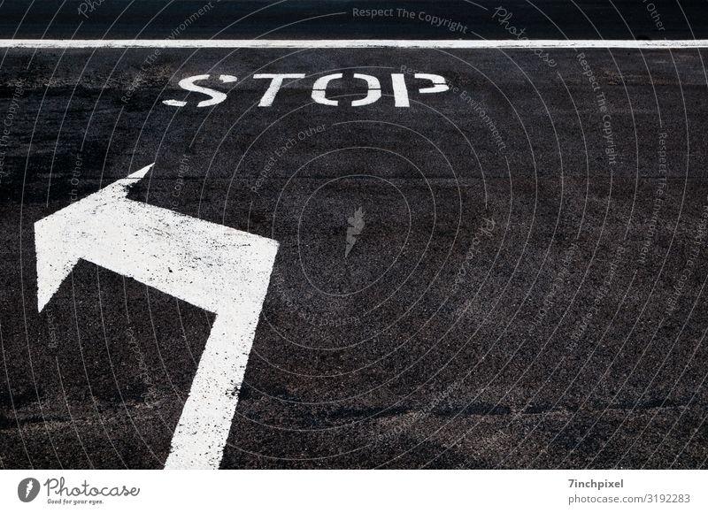 Turn Left weiß schwarz Straße Bewegung Verkehr Zeichen Verkehrswege Autofahren Straßenverkehr Verkehrszeichen Verkehrsschild