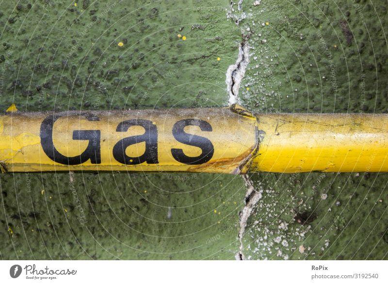 Gas Design Arbeit & Erwerbstätigkeit Beruf Arbeitsplatz Baustelle Fabrik Wirtschaft Industrie Handwerk Energiewirtschaft Business Unternehmen Maschine