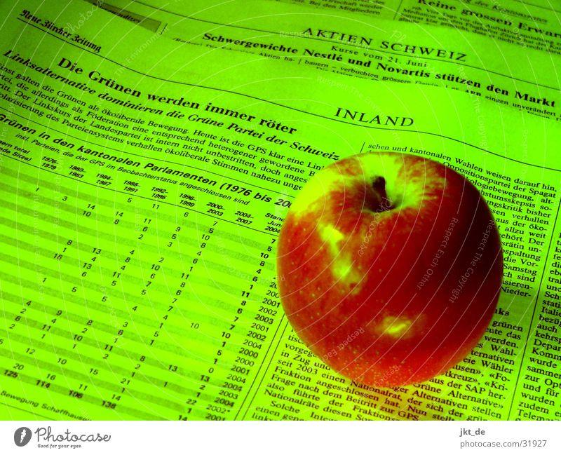 Die Grünen werden immer röter grün rot Zeitung Schweiz Apfel Zeitschrift Politik & Staat