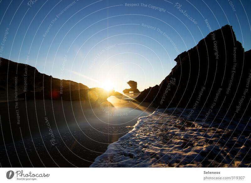 Kenton Himmel Natur Ferien & Urlaub & Reisen Wasser Sommer Sonne Meer Landschaft Ferne Strand Umwelt Küste Reisefotografie natürlich Freiheit Tourismus