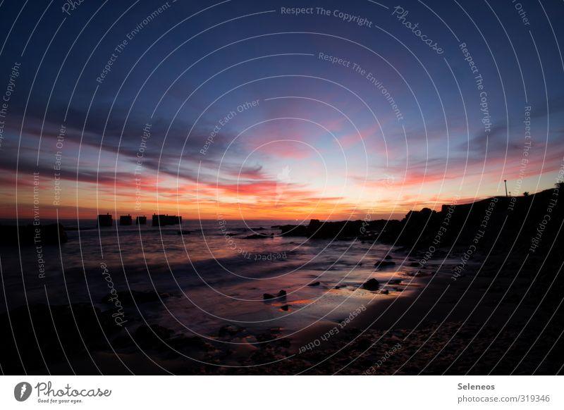 auf bald! Ferien & Urlaub & Reisen Tourismus Ausflug Ferne Freiheit Sommer Sommerurlaub Sonne Strand Meer Umwelt Natur Landschaft Horizont Küste Südafrika