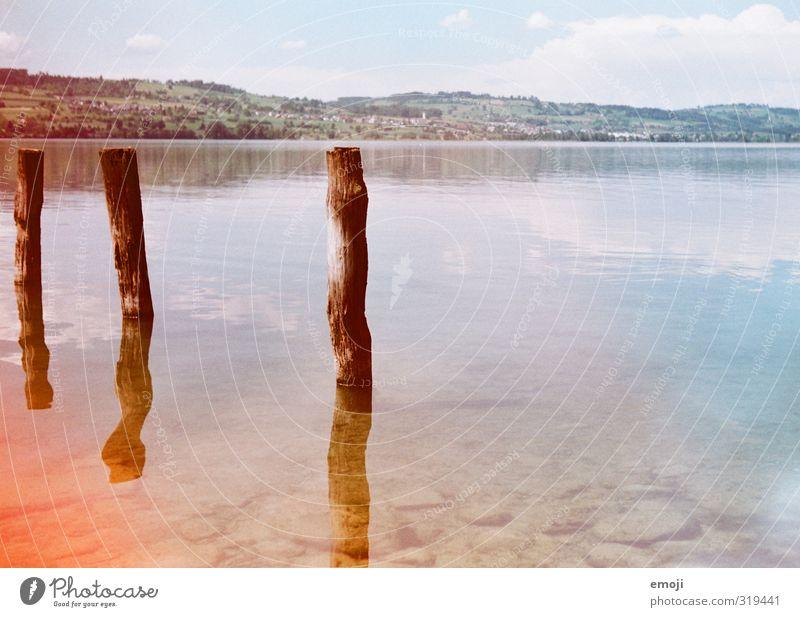 unwirklich Himmel Natur Wasser Sommer Umwelt See natürlich Schönes Wetter nass analog Lichteinfall