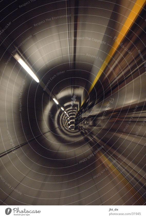 tunnel 14 Architektur Geschwindigkeit Tunnel Flughafen Zürich