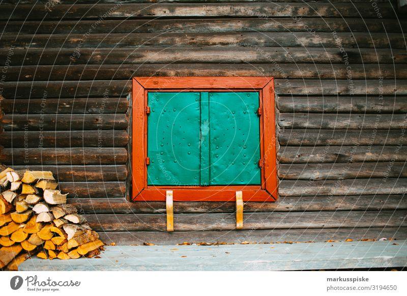 einsame Berghütte Freude Wohlgefühl Zufriedenheit Erholung ruhig Freizeit & Hobby Ferien & Urlaub & Reisen Tourismus Ausflug Abenteuer Ferne Freiheit Expedition