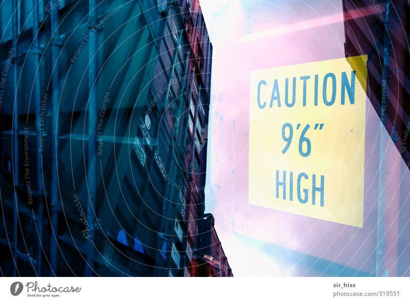 Hochstapler blau Einsamkeit Business rosa Schriftzeichen Zukunft Hinweisschild Technik & Technologie Sicherheit Ziffern & Zahlen Zeichen Güterverkehr & Logistik