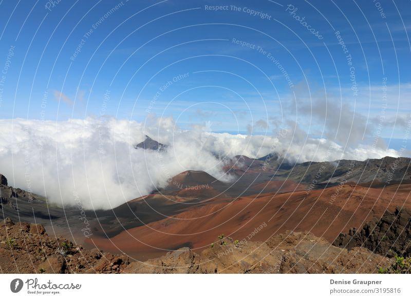 Haleakala National Park is a national park on the island of Maui Umwelt Natur Landschaft Himmel Sonne Klima Klimawandel Wetter Schönes Wetter fliegen