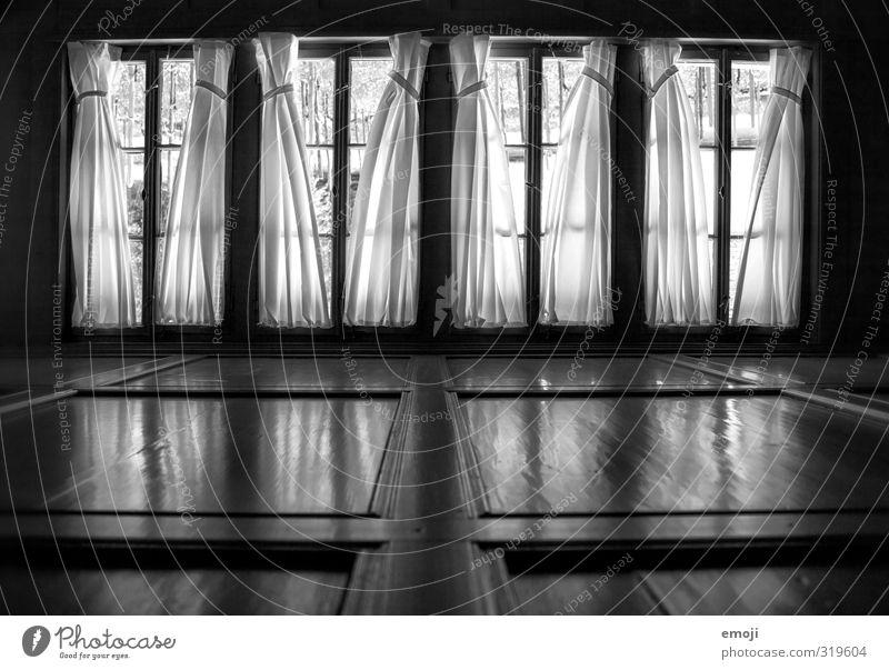 befangen alt Haus dunkel Fenster Gebäude bedrohlich Bauwerk Gardine Fensterrahmen