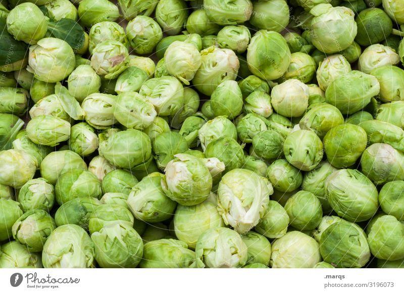Rosenkohl Gesundheit Lebensmittel Ernährung frisch Gemüse viele Bioprodukte Vegetarische Ernährung Wochenmarkt