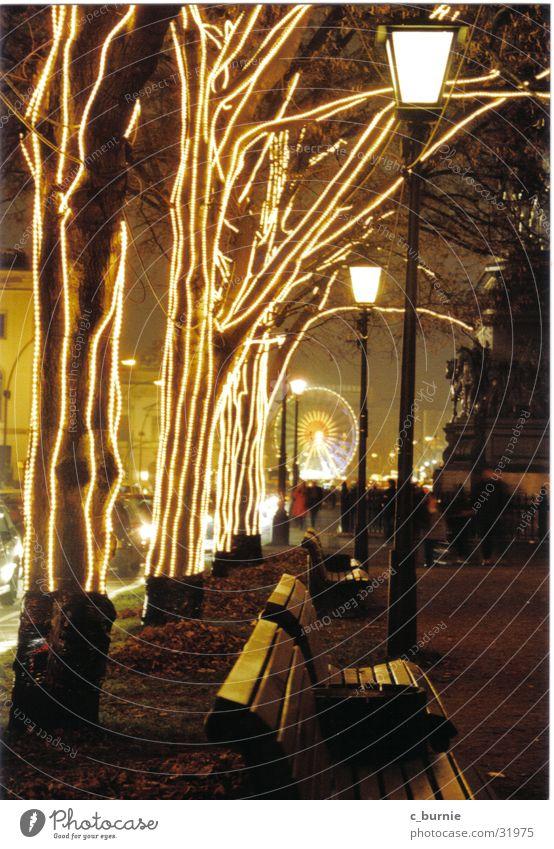 x-mas in Berlin Weihnachten & Advent Baum Lampe Europa Riesenrad Weihnachtsdekoration