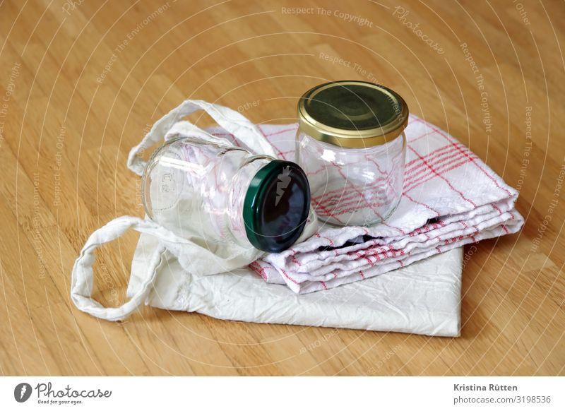 schraubgläser und einkaufsbeutel Glas kaufen Tasche nachhaltig Umweltschutz stoffbeutel Stofftasche Einkaufstasche schraubglas Handtuch Tuch Baumwolltuch