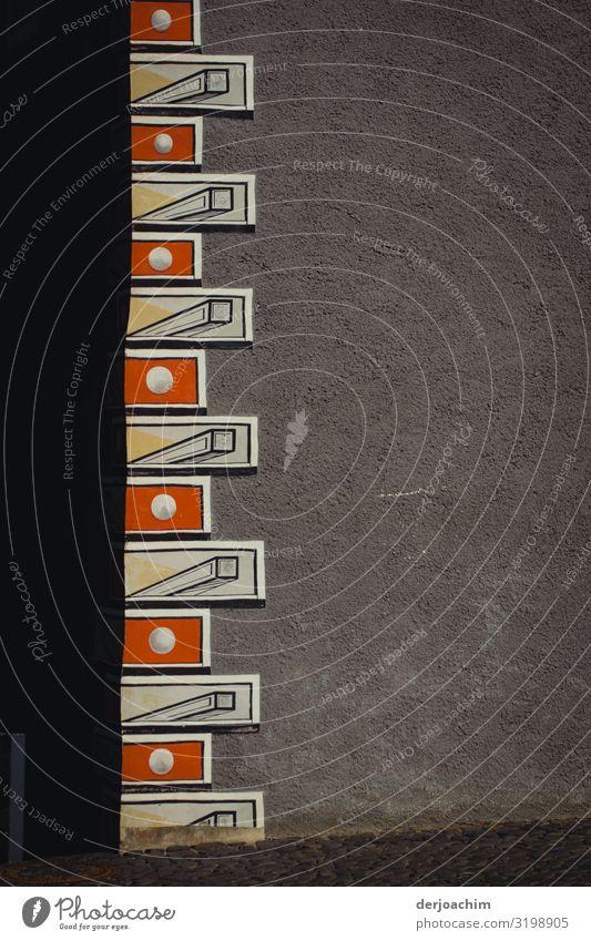 Achitektur in Görlitz Design Zufriedenheit Ausflug Haus Urelemente Sommer Schönes Wetter Sachsen Deutschland Stadt Mauer Wand Backstein beobachten entdecken