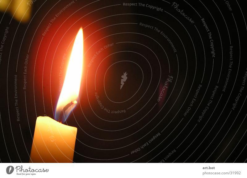 Dochtbrand Kerze Licht Dinge Flamme Kerzendocht