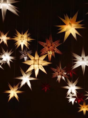 Leuchtende Adventssterne - Sternstunden Weihnachten & Advent Stern (Symbol) advent star Weihnachtsdekoration Weihnachtsstern Weihnachtsbeleuchtung leuchten
