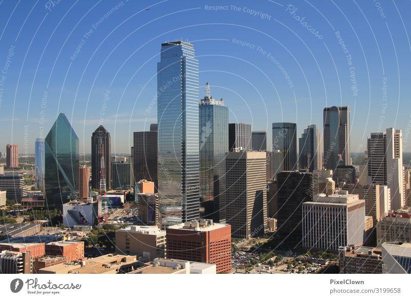 Dallas Lifestyle Stil Ferien & Urlaub & Reisen Tourismus Ferne Freiheit Sightseeing Städtereise Bauwerk Gebäude Architektur Fassade Sehenswürdigkeit bauen
