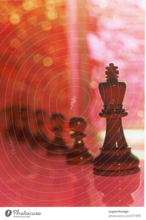 Schach Schachfigur mehrfarbig Freizeit & Hobby König Reihe
