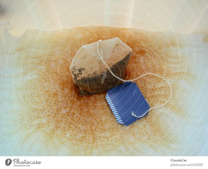 Teebeutel Gesundheit Tee Flüssigkeit Fleck Getränk Teebeutel Küchenpapier