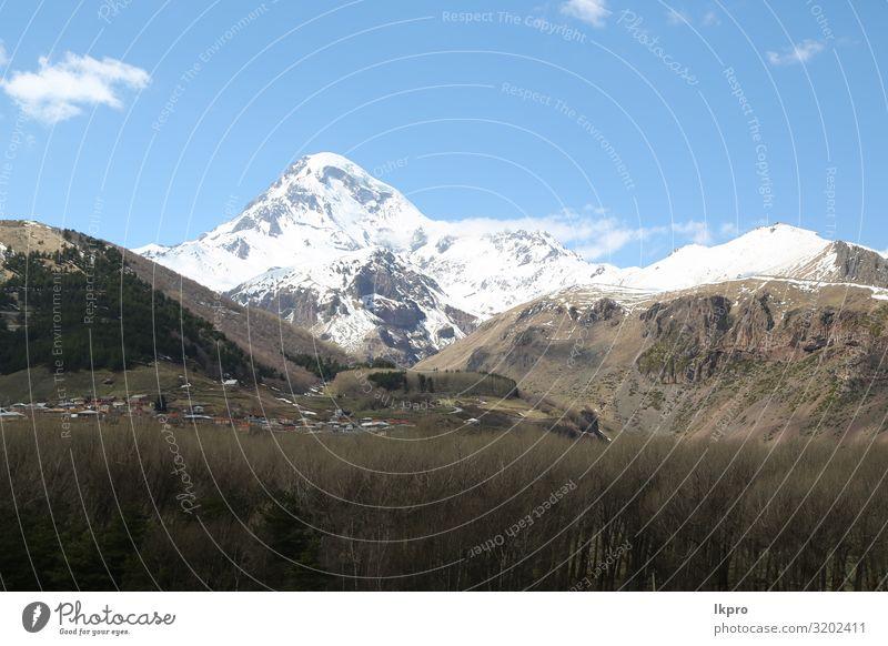 Himmel Ferien & Urlaub & Reisen Natur alt Sommer blau schön grün Landschaft Wolken Berge u. Gebirge Religion & Glaube Schnee Gras Tourismus Felsen