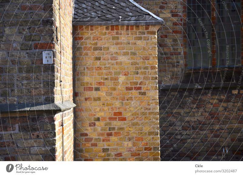 Anbauten blau Stadt grün weiß Fenster schwarz Architektur Religion & Glaube gelb Wand Mauer Stein orange Fassade grau modern