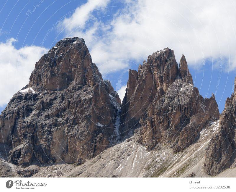 Felsgiganten Ferien & Urlaub & Reisen Tourismus Ausflug Sommer Berge u. Gebirge wandern Klettern Bergsteigen Landschaft Luft Himmel Wolken Gipfel entdecken