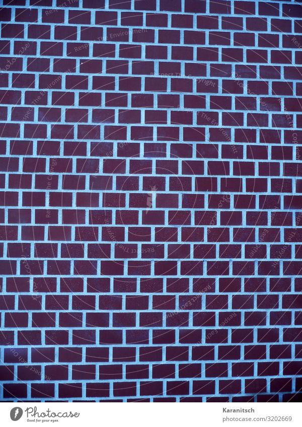 Backsteinmauer Hausbau Handwerker Baustelle Architektur Bauwerk Mauer Wand bauen braun rot Ordnung Schutz Backsteinwand Strukturen & Formen Hintergrundbild