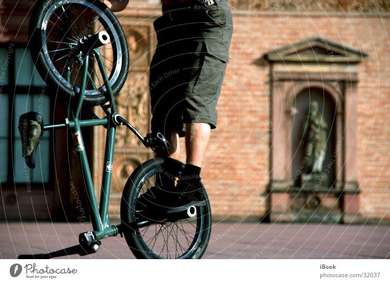 bmx tricks Sport Fahrrad Coolness BMX Trick Fahrer