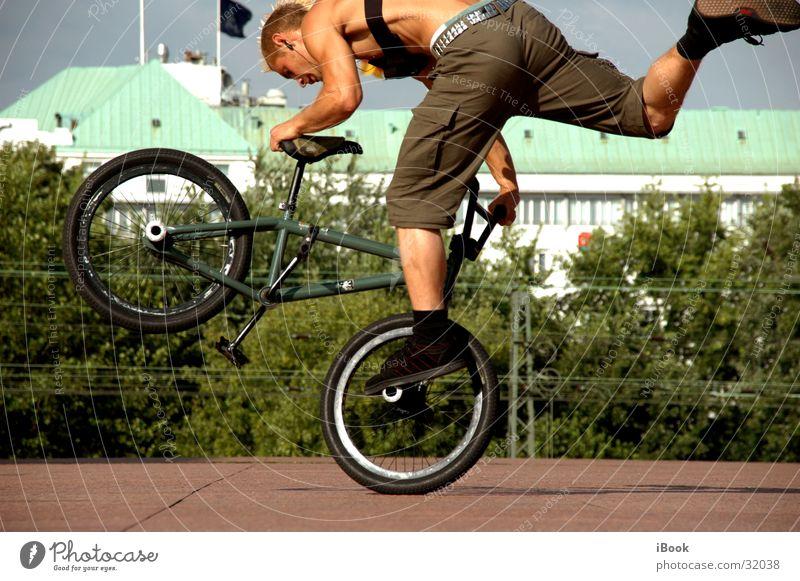 bmx trix Sport Coolness BMX Trick Fahrer