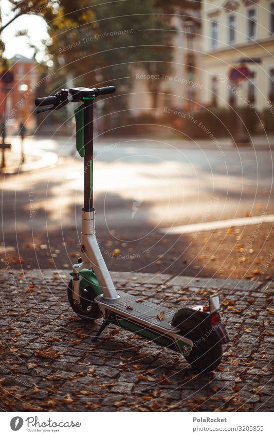 #A0# E-Scooter to Paradise II Kunst ästhetisch escooter eroller e-roller e-scooter Kleinmotorrad elektronisch Batterie Fahrrad Verkehrsmittel modern