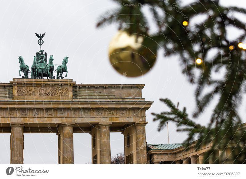 Berlin zur Weihnachszeit #1. Stadt Hauptstadt ästhetisch Weihnachten & Advent Weihnachtsbaum Weihnachtsmarkt Farbfoto Außenaufnahme
