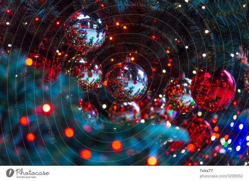 Weihnachtskugeln Kunst Kunstwerk Veranstaltung Show Zeichen ästhetisch Weihnachten & Advent Weihnachtsbaum Weihnachtsmarkt Farbfoto Außenaufnahme