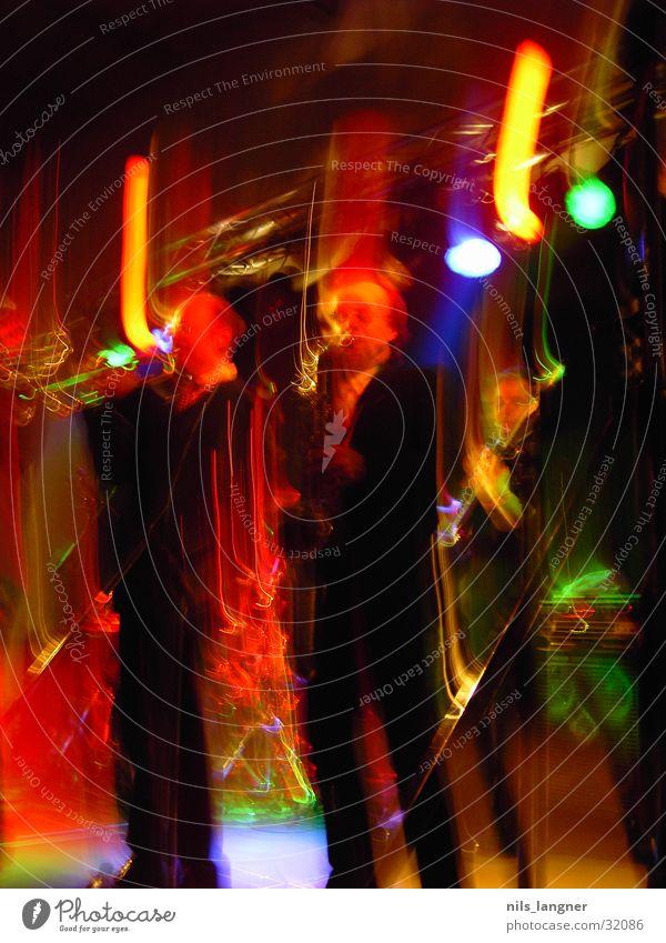 Universale 3 mehrfarbig Konzert Musik Universale 2004 Freiburg im Breisgau Schnur Veschwommen