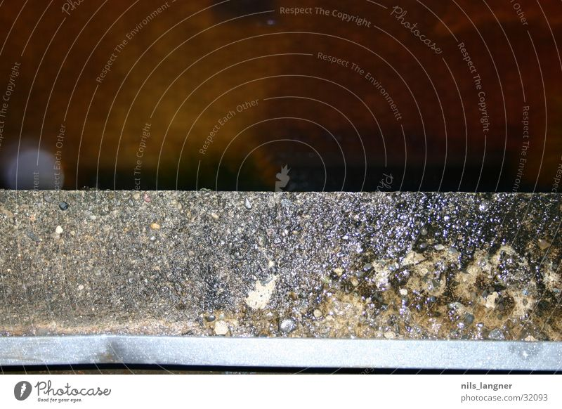 von oben 1 grau braun Hintergrundbild Ecke Stahl obskur Am Rand Anschnitt Bildausschnitt