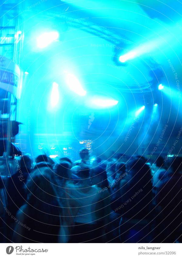 universale_02 Disco Party Lampe Freizeit & Hobby blau Tanzen Licht Freiburg im Breisgau Partygast Beleuchtung viele