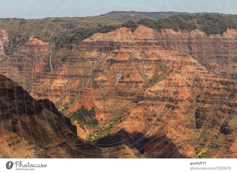 Waimea Canyon Kauai/Hawaii Ferien & Urlaub & Reisen Tourismus Ausflug Abenteuer Ferne Freiheit Insel Umwelt Natur Landschaft Erde Sand Himmel Horizont