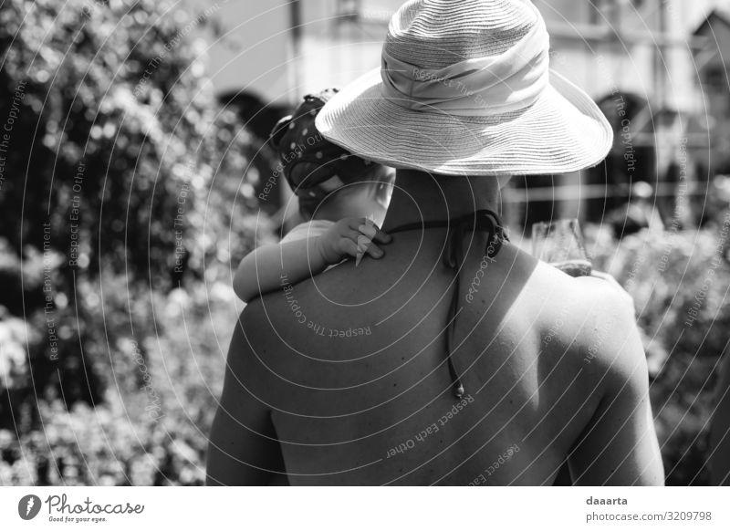 Mensch Sommer Freude Erwachsene Leben Liebe feminin Gefühle Familie & Verwandtschaft Garten Freiheit Zusammensein Stimmung Freizeit & Hobby Park Fröhlichkeit