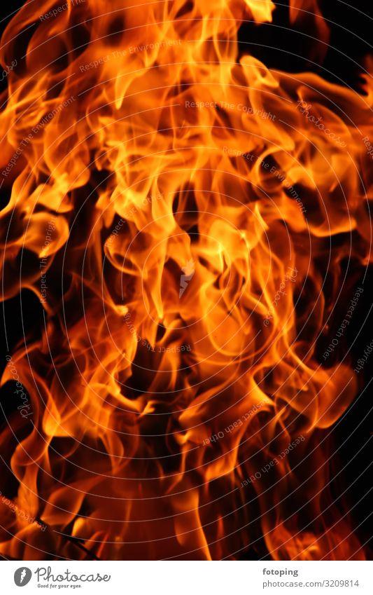 Feuer Wärme heiß orange Romantik Brennholz Flamme Glut Hartholz Heizung Rauch Verbrennung anzünden brennen brennendes brennendes Feuer brennendes Holz fotoping