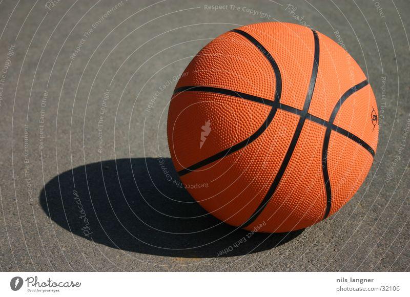i love this game Sport Basketball Ball orange Bodenbelag Schatten