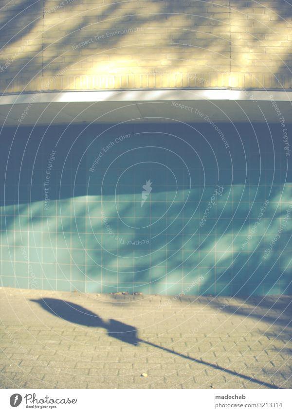 Ein Hauch von Nichts Stadt Haus Wand Mauer Fassade Schilder & Markierungen Idylle Hinweisschild Zeichen Kitsch Pastellton Verkehrszeichen Warnschild