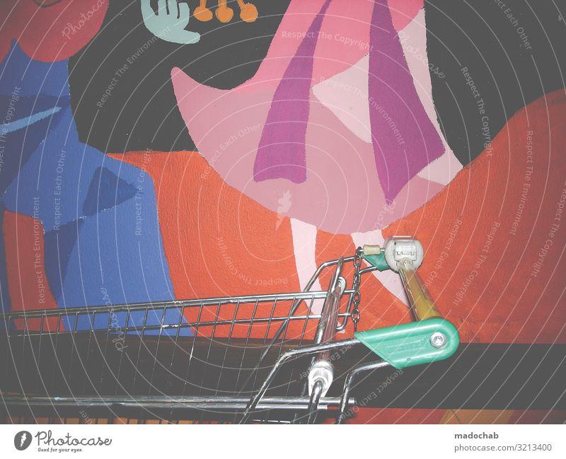 Trash shopping Lifestyle kaufen Reichtum Stil Design Häusliches Leben Wohnung Renovieren Umzug (Wohnungswechsel) Innenarchitektur Dekoration & Verzierung Kunst