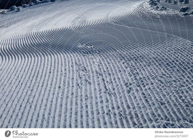 Linientreu Ferien & Urlaub & Reisen Winter Schnee Winterurlaub Berge u. Gebirge Sport Wintersport Skifahren Skipiste Natur Landschaft Schönes Wetter Eis Frost