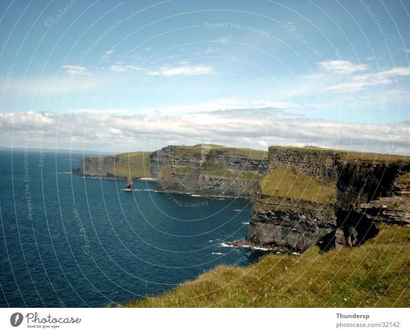 Cliffs of Moher Meer Sommer Europa Klippe Republik Irland