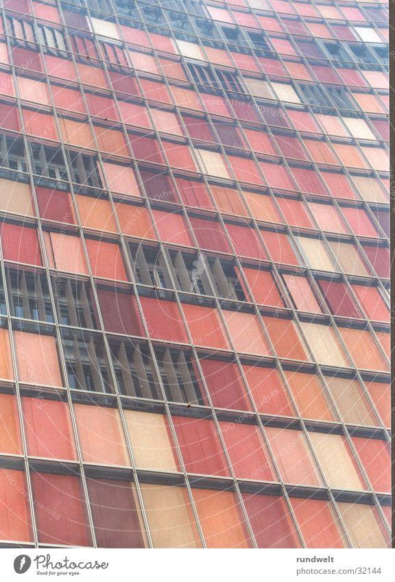 gsw-hochhaus Hochhaus Fassade Jalousie Architektur Perspektive