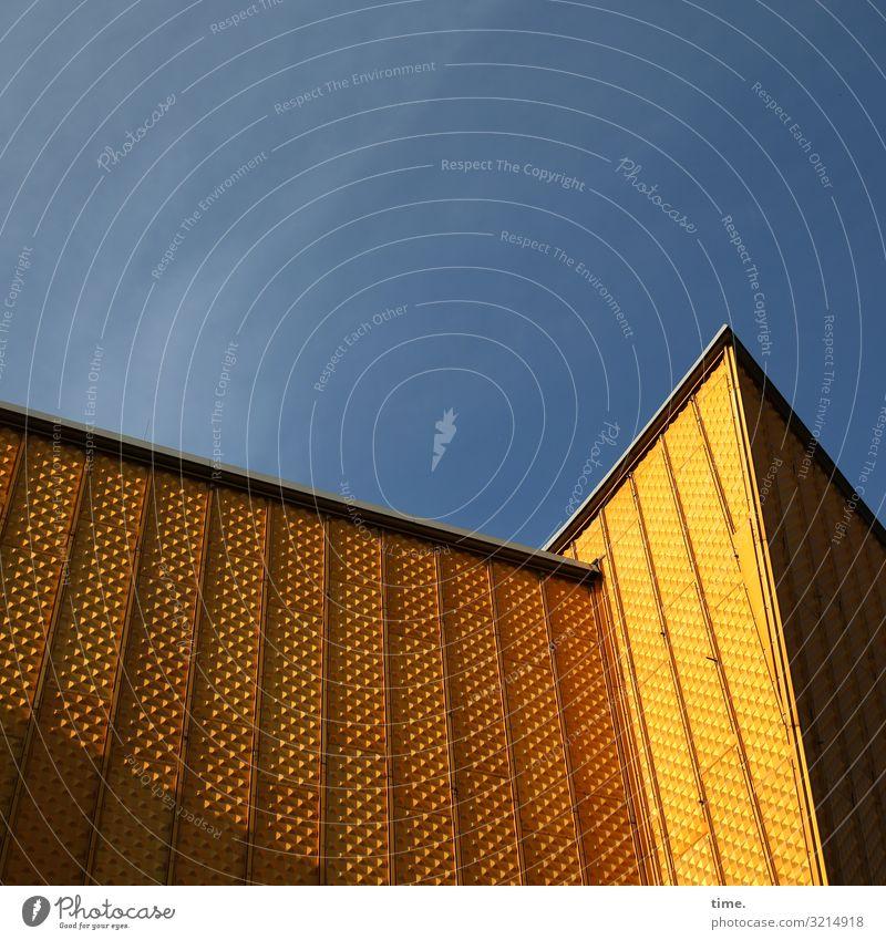 musical box Himmel Schönes Wetter Berlin Berliner Philharmonie Hauptstadt Stadtzentrum Bauwerk Gebäude Architektur Halle Mauer Wand Fassade Sehenswürdigkeit